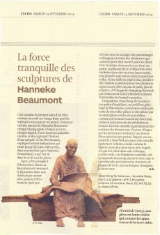 La force tranquille des sculptures de Hanneke Beaumont