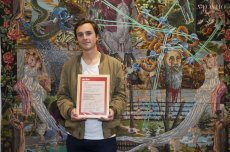 Lucien MURAT receives the ARTE / Beaux-Arts Magazine Prize
