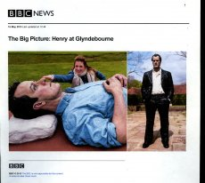 """The Big Picture : Henry at Glyndebourne """