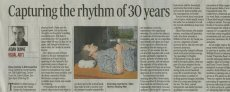 """Capturing the rhythm of 30 years"""